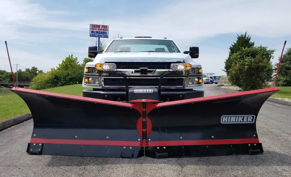 Custom Mount Build for Hiniker Plow