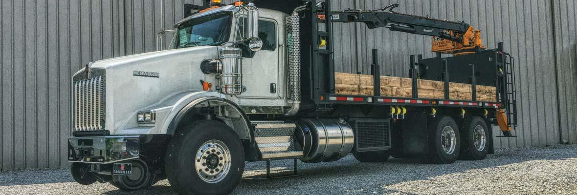 Hi-Rail Material Handler Truck